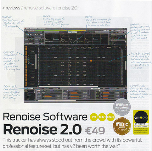 Renoise 2 review in CM138