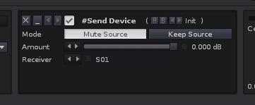 Send Device default settings