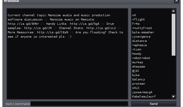 IRC dating chatrooms